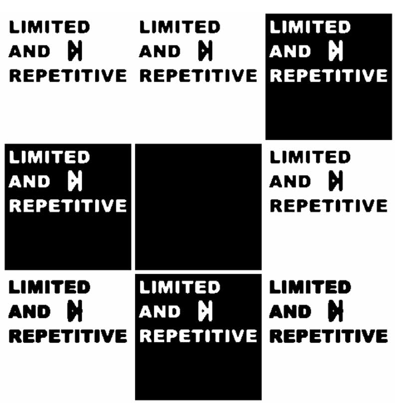 limited and repetitive